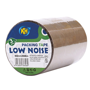 brown low noise packing tape